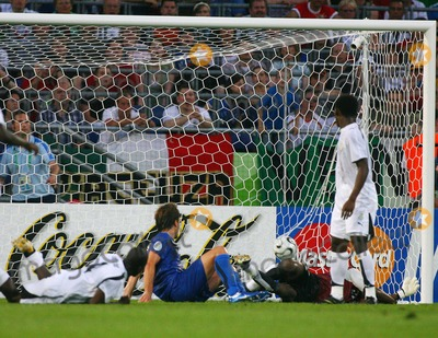 Andrea Pirlo Photo - Italy Vs Ghana 06-12-2006 Hannover Germany Photo by Richard Sellers-Globe Photos Inc 2006 Andrea Pirlo Scores Opening Goal