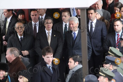 Bill Clinton Photo - Funeral For Former New York City Mayor Edward I Koch Held at Temple Emanu - El in Manhattan Bruce Cotler 2013 Former Governor Mario Cuomo  Former President Bill Clinton  Governor Andrew Cuomo Photo by Bruce Cotler-Globe Photos Inc