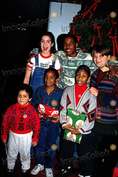 Merlin Santana Photo - Whitney Houston Christmas Party Alison Fanelli Alan Schwartz Photo by Lisa RoseGlobe Photos Inc 1994 Merlin Santana Obit