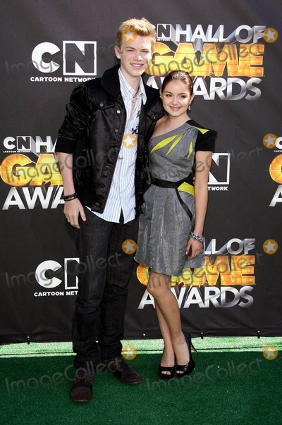 Kenton Duty Photo - Kenton Duty Ariel Winter Actors 1st Annual Hall of Game Awards Hosted by the Cartoon Network the Barker Hanger Santa Monica CA 02-21-2011 photo by Graham Whitby Boot-allstar - Globe Photos Inc 2011