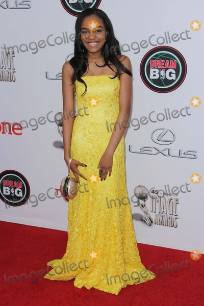 China McClain Photo - China Mcclain attends the 45th Naacp Image Awards at the Pasadena Convention Center on February 22nd 2014 Pasadena Californiausa PhototleopoldGlobephotos