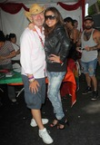 Rodney Scott,Raquel Castaneda Photo - 2012 LA Gay Pride_Backstage