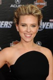 Scarlett Johansson Photos - 11 April 2012 - Hollywood California - Scarlett Johansson Marvels The Avengers World Premiere held at the El Capitan Theatre Photo Credit Byron PurvisAdMedia