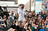 Miley Cyrus Photos - NEW YORK CITY NY USA - MAY 26 Miley Cyrus Performs on NBCs Today Show Concert Series at Rockefeller Plaza on May 26 2017 in New York City New York United States (Photo by Paul J FroggattFamousPix)
