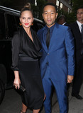 Photos From Chrissy Teigen and John Legend are seen in New York City