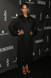 Photos From Zoe Saldana at Los Angeles Confidential's winter issue celebration with cover star Zoe Saldana