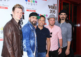 Photos From Backstreet Boys at the grand opening of Sugar Factory
