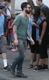 Adam Levine,THE SET Photo - Can A Song Save Your Life Set