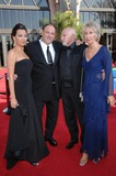 Photo - Sopranos stars James Gandolfini  date (left) with Dominic Chianese  wife at the 59th Primetime Emmy Awards at the Shrine AuditoriumSeptember 16 2007 Los Angeles CAPicture Paul Smith  Featureflash