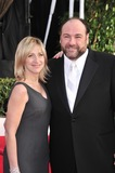 Photo - James Gandolfini  Edie Falco at the 14th Annual Screen Actors Guild Awards at the Shrine Auditorium Los Angeles CAJanuary 27 2008  Los Angeles CAPicture Paul Smith  Featureflash