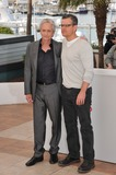 Photo - Matt Damon  Michael Douglas at photocall for their movie Behind the Candelabra at the 66th Festival de CannesMay 21 2013  Cannes FrancePicture Paul Smith  Featureflash