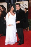 Pierce Brosnan,Keely Shaye Smith,Keely Shaye-Smith Photo - Golden Globe Awards