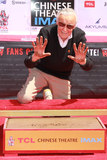 Photos From Stan Lee Hand and Footprint Ceremony