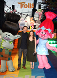 Photos From Trolls 3D Film promotion at the London Eye