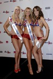 Michelle Marsh Photo - London UK Miss Great Britain finalists(L-R) Michelle Marsh (Oldham) competition favourite Claire Evans(Aberystwyth) Nicola Tappenden (Croydon) pose for  photographers at the Riverside Plaza Hotel 20th May 2007 Ali KadinskyLandmark Media