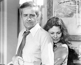 Arthur Hill Photo - Faye Dunaway with Arthur Hill in the Champ Supplied by Globe Photos Inc Tv-film Still
