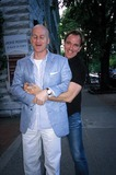 Peter Arnold Photo - Peter Arnold and Tim Baum in East Hamptonnyc Photo Rose Hartman Globe Photos Inc