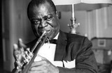 Louis Armstrong Photos - Louis Armstrong 1971 7927 Photo by Giancarlo Botti-ipol-Globe Photos Inc