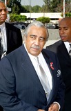 Charles Rangel,Johnnie Cochran Photo - Funeral of Johnnie L Cochran Jr