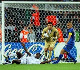 Asamoah Gyan Photo - Italy Vs Ghana 06-12-2006 Hannover Germany Photo by Richard Sellers-Globe Photos Inc 2006 Asamoah Gyan Appeals For a Penalty
