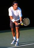 Alex Corretja Photo - Nasdaq 100 Tennis Match  Florida 0319-212003 Photo John B Zissel Ipol Globe Photos Inc 2003 Alex Corretja