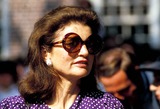 Jackie Onassis Photo - Jacqueline Kennedy Onassis at Brown Universtiy For Her Sons Graduation Photojames Colburn  Ipol  Globe Photos Inc 1983 Jacquelinekenndeyonassisretro
