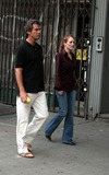 Pierce Brosnan,Julianne Moore,THE SET Photo - Archival Pictures - Globe Photos - 75866