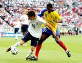 Agustin Delgado Photo - World Cup Soccer England V Ecuador 06-25-2006 Photo Richard Sellers  Allstar  Globe Photos Inc 2006 Owen Hargreaves  Agustin Delgado