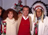 Keane,Eric Pierpoint,Bob Eubanks,Iron Eyes Cody Photo - Archival Pictures - Globe Photos - 47744