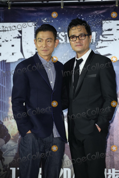 Andy Lau Photo - Cast members Andy Lau and Ka Tung Lam attend premiere of film Firestorm in TaipeiChina on Monday December 162013Credit Topphotoface to face- No rights for China and Taiwan -