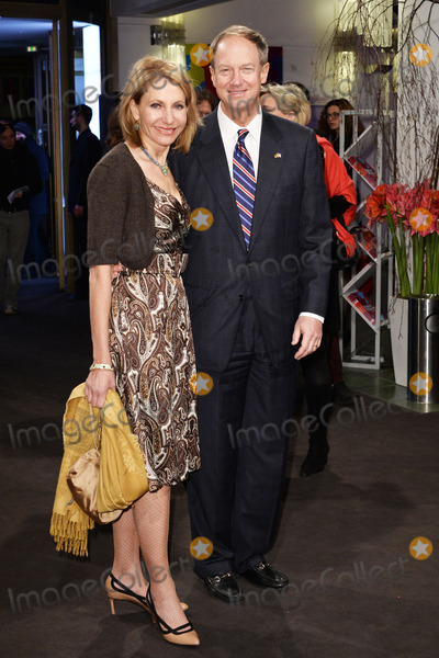 John B Photo - John B Emerson (Ambassador of the United States in Germany) with wife Kimberly Marteau Emerson attending the A Long Way Down Premiere during the 64rd Berlinale Film Festival at the Friedrichstadt-Palast BerlinBerlin 10022014 Credit Timmface to face