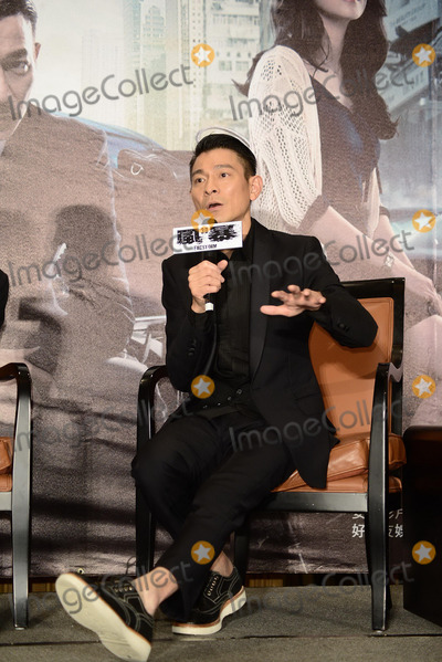 Andy Lau Photo - Cast member Andy Lau promotes film Firestorm in TaipeiChina on Monday December 162013Credit Topphotoface to face- No rights for China and Taiwan -