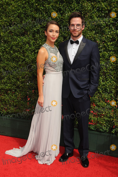 Joanna Sotomura Photo - 12 September 2015 - Los Angeles California - Joanna Sotomura Brent Bailey 2015 Creative Arts Emmy Awards - Arrivals held at the Microsoft Theatre Photo Credit Byron PurvisAdMedia