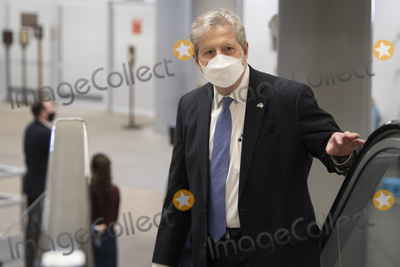 Kennedy Photo - UNITED STATES - February 9 United States Senator John Neely Kennedy (Republican of Louisiana) walks through the Senate subway on the first day of former President Donald Trumps second impeachment trial at the US Capitol in Washington on Tuesday Feb 9 2021 Trump is charged with incitement of insurrection after his supporters stormed the Capitol in an attempt to overturn Novembers election resultCredit Caroline Brehman  Pool via CNPAdMedia