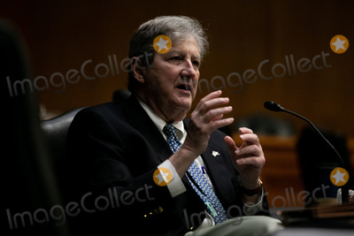 Kennedy Photo - United States Senator John Neely Kennedy (Republican of Louisiana) speaks on Capitol Hill in Washington Thursday July 2 2020 at a Senate Labor Health and Human Services Education and Related Agencies Subcommittee hearing on manufacturing a Coronavirus vaccine Credit Graeme JenningsCNPAdMedia