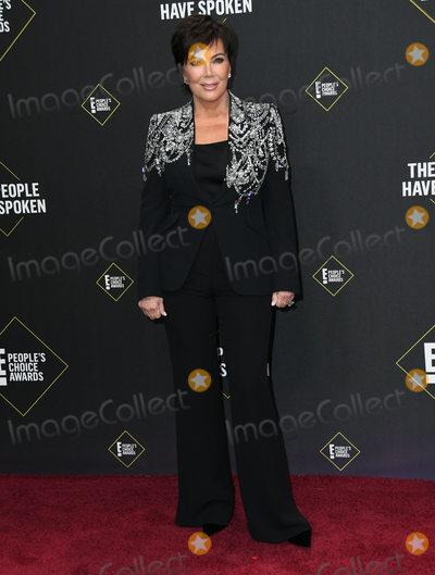 Kris Jenner Photo - 10 November 2019 - Santa Monica California - Kris Jenner 2019 Peoples Choice Awards held at Barker Hangar Photo Credit Birdie ThompsonAdMedia