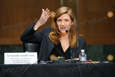Foreigner Photo - Samantha Power nominee to be Administrator of the United States Agency for International Development answers questions at her confirmation hearing before the Senate Foreign Relations Committee Tuesday March 23 2021Credit Greg Nash  Pool via CNPAdMedia