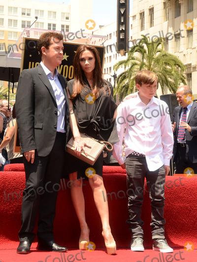 Brooklyn Beckham Photo - 24 May 2011 - Hollywood California - Simon Fuller Victoria Beckham and Brooklyn Beckham Simon Fuller Honored On The Hollywood Walk Of Fame held at Hollywood and Vine Photo Credit Tonya WiseAdMedia