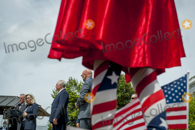 House Speaker Nancy Pelosi Photo - Michael Wheeler of Kansas City MO wear his Super Jesus outfit with cape and US flag while House Minority Leader Rep Kevin McCarthy (R-Calif) holds a media availability with House Minority Whip Rep Steve Scalise (R-LA) House GOP Conference Chairwoman Liz Cheney (R-WY) and others to announce that Republican leaders have filed a lawsuit against House Speaker Nancy Pelosi and congressional officials in an effort to block the House of Representatives from using a proxy voting system to allow for remote voting during the coronavirus pandemic outside of the US Capitol in Washington DC Wednesday May 27 2020 Credit Rod Lamkey  CNPAdMedia
