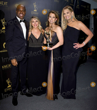 Nancy ODell Photo - 29 April 2018 -Pasadena California - Kevin Fraizer Nancy ODell 45th Annual Daytime Emmy Awards held at Pasadena Civic Center Photo Credit Birdie ThompsonAdMedia