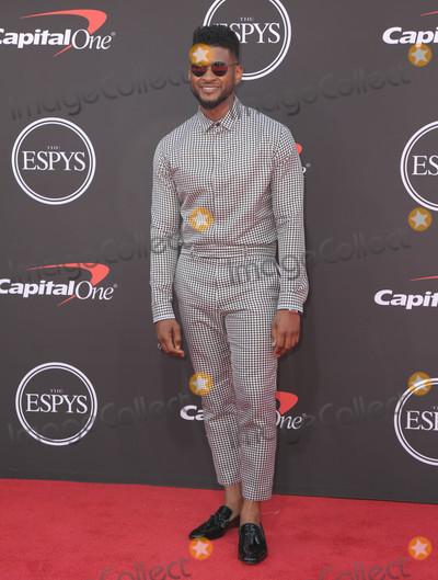Usher Photo - 10 July 2019 - Los Angeles California -Usher  The 2019 ESPY Awards held at Microsoft Theater Photo Credit PMAAdMedia