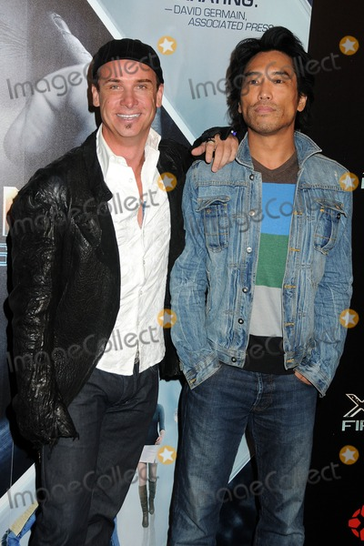 Peter Shinkoda Photo - 8 September 2011 - Hollywood California - Colin Cunningham and Peter Shinkoda X-Men First Class Blu-RayDVD Release Party held at the Roosevelt Hotel Photo Credit Byron PurvisAdMedia