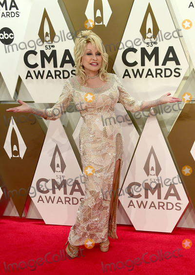 Dolly Parton Photo - 13 November 2019 - Nashville Tennessee - Dolly Parton 53rd Annual CMA Awards Country Musics Biggest Night held at Music City Center Photo Credit Laura FarrAdMedia