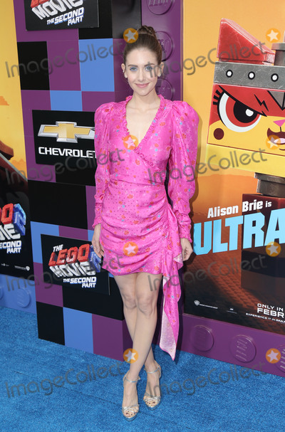 Alison Brie Photo - 02 February 2019 - Westwood California - Alison Brie The LEGO Movie 2 The Second Part Los Angeles Premiere held at Regency Village Theatre Photo Credit PMAAdMedia