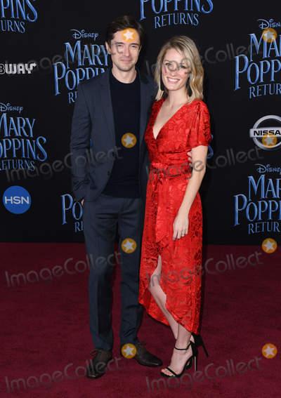 Ashley Hinshaw Photo - 29 November 2018 - Hollywood California - Topher Grace Ashley Hinshaw Mary Poppins Returns Los Angeles Premiere held at The Dolby Theatre Photo Credit Birdie ThompsonAdMedia