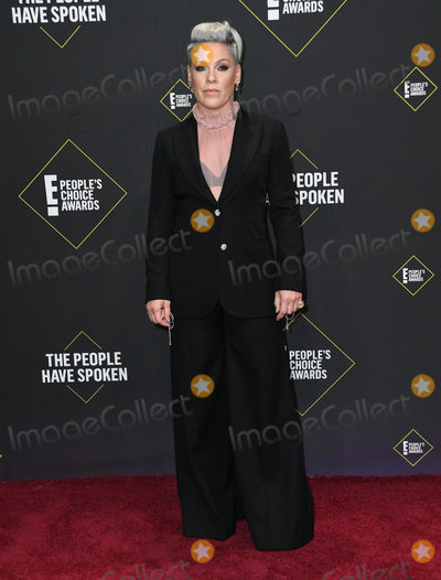 Pink Photo - 10 November 2019 - Santa Monica California - Pink 2019 Peoples Choice Awards held at Barker Hangar Photo Credit Birdie ThompsonAdMedia