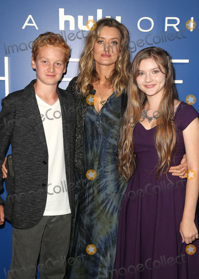Amber Patino Photo - 12 September 2018 - Los Angeles California - Alex Rubin Natascha McElhone Amber Patino The First Hulu Original Drama Series Premiere held at The California Science Center Photo Credit Faye SadouAdMedia