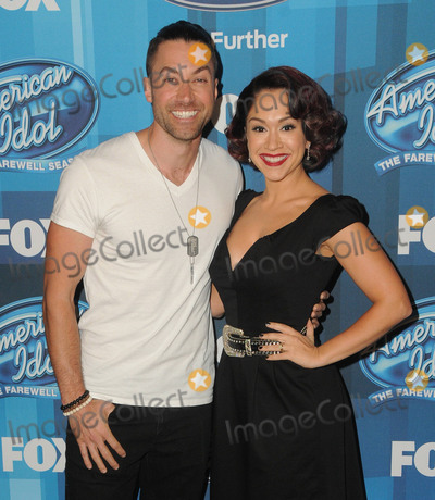 Ace Young Photo - 07 April 2016 - Hollywood California - Ace Young Diana DeGarmo Arrivals for FOXs American Idol Finale For The Farewell Season held at The Dolby Theater Photo Credit Birdie ThompsonAdMedia