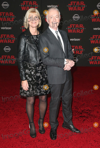 Anthony Daniels Photo - 09 December 2017 - Los Angeles California - Anthony Daniels Christine Savage Premiere Of Disney Pictures And Lucasfilms Star Wars The Last Jedi held at The Shrine Auditorium Photo Credit F SadouAdMedia