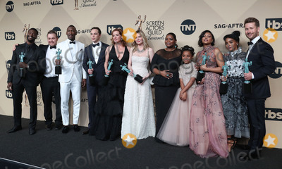 Aldis Hodges Photo - 29 January 2017 - Los Angeles California - Aldis Hodge Mahershala Ali Jim Parsons Kimberly Quinn Kirsten Dunst Octavia Spencer Lidya Jewett Taraji P Henson Janelle Monae Glenn Powel Theodore Melfi 23rd Annual Screen Actors Guild Awards held at The Shrine Expo Hall Photo Credit F SadouAdMedia